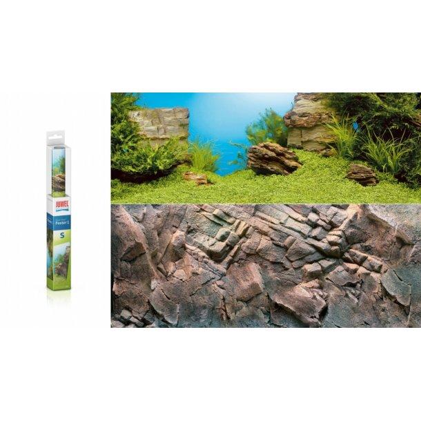 JUWEL Poster 1 - 100x50cm - Plant/Rocks