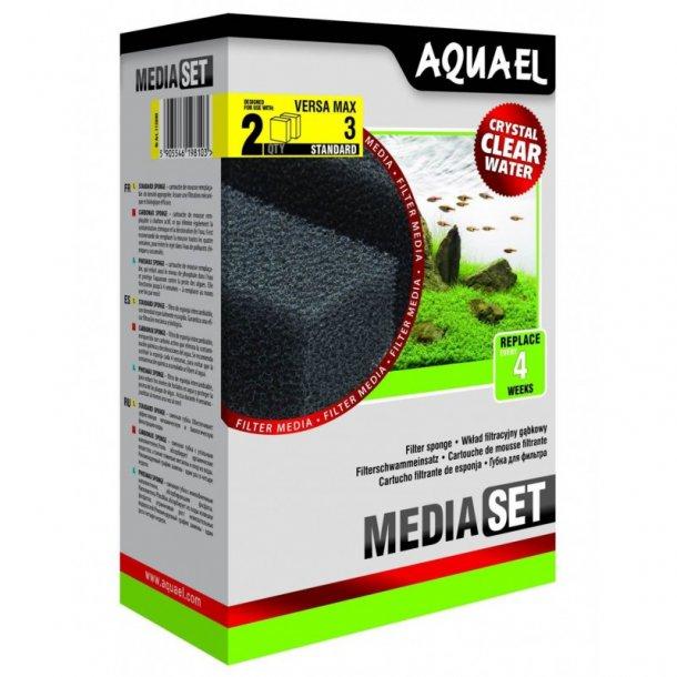 AQUAEL Versamax-1 - Filteringsvamp (2stk)