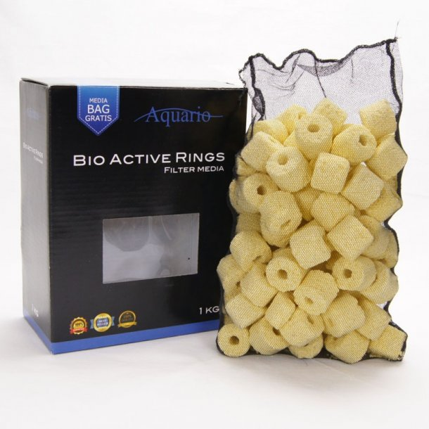 AQUARIO Bio Active Rings - 1kg