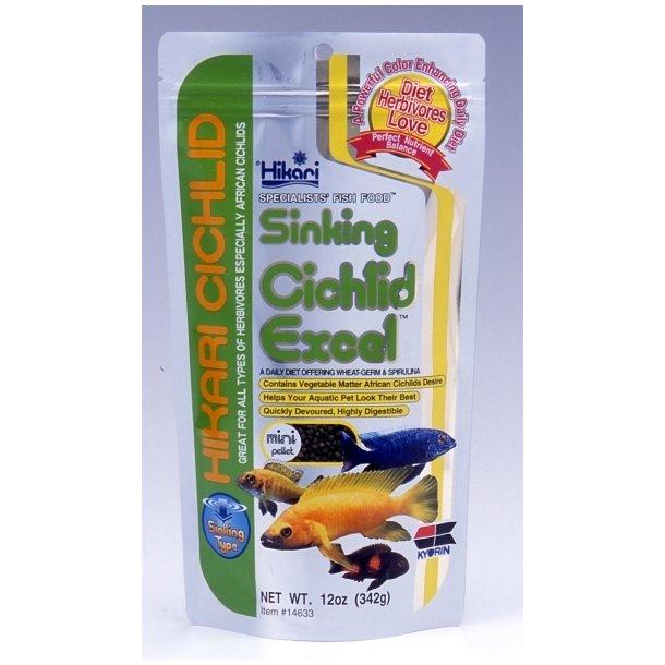 HIKARI Cichlid Excel Mini Sinking 342g