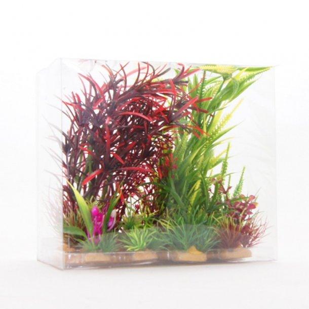 YUSEE - Sæt af Planter MAXI Rød 20x9x12cm