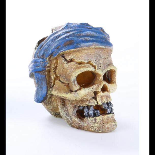 AQUA DELLA - Pirate Skull Head-Crack - Blå