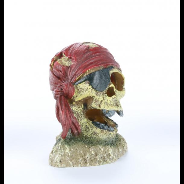 AQUA DELLA - Pirate Skull Eye-Patch - Rød