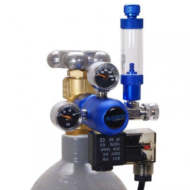 AQUARIO CO2 Controller BLUE Professional (med magnetventil)