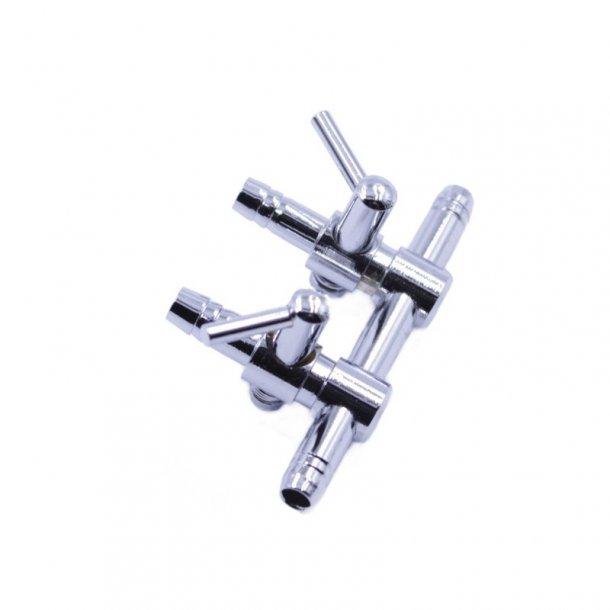 RESUN ED02 Luftfordeler - 2 udtag - metal
